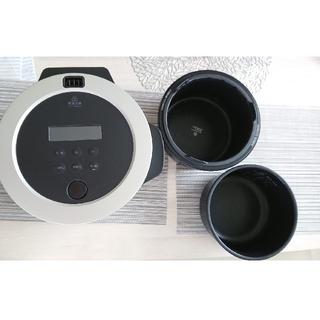 バルミューダ(BALMUDA)のBALMUDA/バルミューダ 蒸気炊飯器 3合炊き(炊飯器)