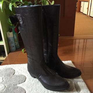 レインブーツ バックリボン(レインブーツ/長靴)