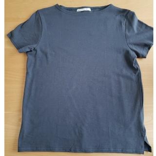 イッカ(ikka)のIkka Tシャツ カットソー ネイビー(Tシャツ(半袖/袖なし))