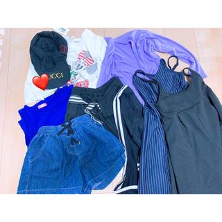 シマムラ(しまむら)の140〜150cm  夏服 9枚セット(その他)