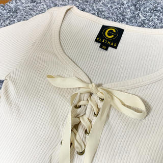 クレイサス(CLATHAS)のクレイサス リブTシャツ【値下げしました】(Tシャツ(半袖/袖なし))