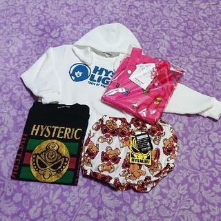 ヒステリックミニ(HYSTERIC MINI)のセット(Tシャツ/カットソー)