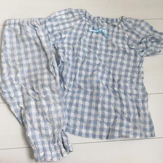 ムジルシリョウヒン(MUJI (無印良品))の無印 夏 パジャマ 120 女の子 (パジャマ)