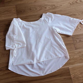 ルクールブラン(le.coeur blanc)のルクールブラン 袖リボンブラウス(シャツ/ブラウス(長袖/七分))
