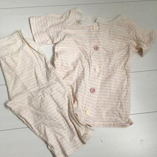 ムジルシリョウヒン(MUJI (無印良品))の無印 夏 お着替えパジャマ 110 女の子(パジャマ)