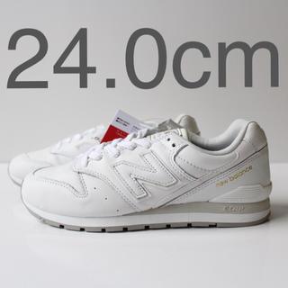 ニューバランス(New Balance)の新品 ニューバランス CM996 LTW ホワイト 24.0cm(スニーカー)