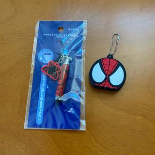 ユニバーサルスタジオジャパン(USJ)のUSJスパイダーマン。キーホルダー、タッチペン(キャラクターグッズ)