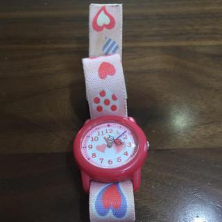 マルマン(Maruman)の訳あり ジャンク キッズ時計 maruman 日常生活防水  ハート(腕時計)