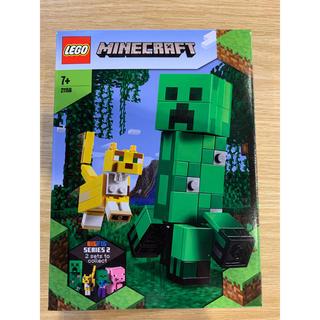 レゴ(Lego)のLEGO マインクラフト クリーパーとヤマネコ(知育玩具)