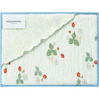 ウェッジウッド(WEDGWOOD)のWEDGWOOD ウェッジウッド ハーフケット グリーン(毛布)