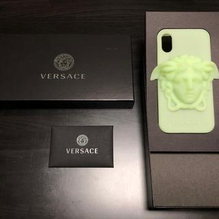 ヴェルサーチ(VERSACE)の※値下げ※ versace メドゥーサ iPhoneX(iPhoneケース)