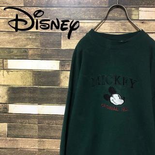 ディズニー(Disney)の90's ディズニー  USA製  ミッキー ビッグロゴ スエットトレーナー(スウェット)