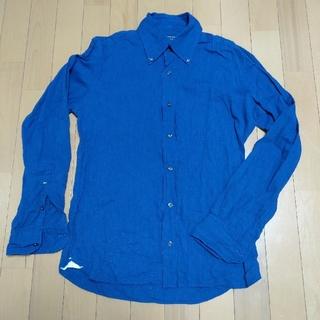 オリアン(ORIAN)のORIAN シャツ S ネイビーブルー コットン100%(シャツ)