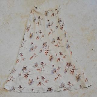 ラルフローレン(Ralph Lauren)の美品ラルフローレン花柄ロングスカート、サイズ7号。RALPH LAUREN(ロングスカート)