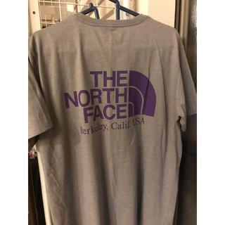 ナナミカ(nanamica)のノースフェイス パープルレーベル Coolmax Logo NT3939N  L(Tシャツ/カットソー(半袖/袖なし))