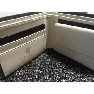 エッティンガー(ETTINGER)の未使用 Ettinger/エッティンガー  二つ折り財布 グレー(折り財布)