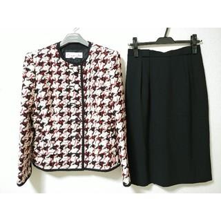 Christian Dior - クリスチャンディオール セットアップ スーツ スカート ノーカラー ジャケット