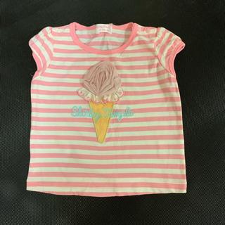 シャーリーテンプル(Shirley Temple)のシャーリーテンプル★アイスクリーム ボーダートップス Tシャツ(Tシャツ)