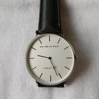 カナルヨンドシー(canal4℃)の腕時計(canal 4℃)(腕時計)