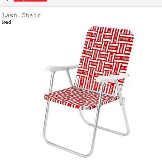 シュプリーム(Supreme)のsupreme lawn chair  椅子 美品(折り畳みイス)