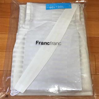 フランフラン(Francfranc)のレースカーテン W100×H198(レースカーテン)