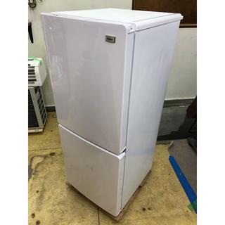 ハイアール(Haier)のHaier 2ドア冷蔵庫 JR-NF148B 2018(冷蔵庫)