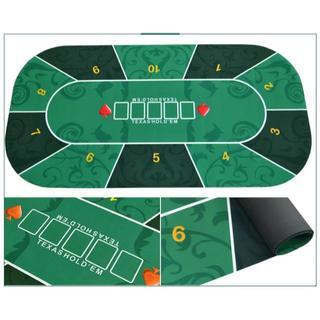 ポーカーテーブル ゲームマットTexas Holdem ゲーム送料込み(トランプ/UNO)