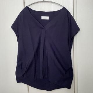 ガリャルダガランテ(GALLARDA GALANTE)のGALLARDA GALANTE 紺色 カットソー(カットソー(半袖/袖なし))
