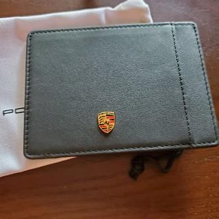 ポルシェ(Porsche)のポルシェノベルティー カードケースとコースター(ノベルティグッズ)