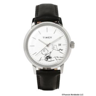 タイメックス(TIMEX)のTIMEX × PEANUTS Marlin Charlie Brown自動巻き(腕時計(アナログ))
