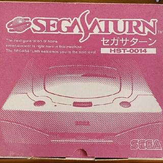 セガ(SEGA)の中古 セガサターン本体セット(コントローラ+1、パワーメモリー、ソフト3本付き)(家庭用ゲーム機本体)
