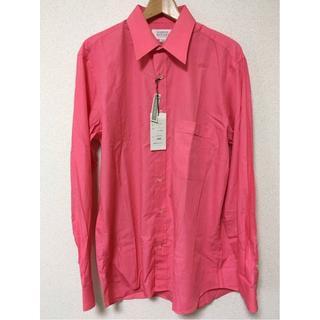 フィッチェ(FICCE)のドン小西 長袖シャツ     サイズ L   色 ピンク イタリア製 (シャツ)