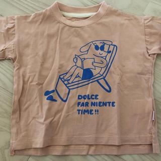 コドモビームス(こども ビームス)のtinycottons Tシャツ 12-18m ワンワンビーチ(シャツ/カットソー)