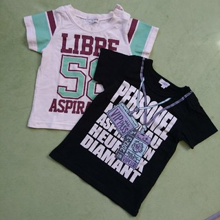 エニィファム(anyFAM)のanyFAM 半袖Tシャツ 90サイズ 2着セット(Tシャツ/カットソー)