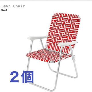 シュプリーム(Supreme)のsupreme lawn chair チェアー(テーブル/チェア)