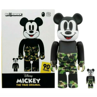 メディコムトイ(MEDICOM TOY)のBE@RBRICK BAPE(R) MICKEY MOUSE 100% 400%(その他)