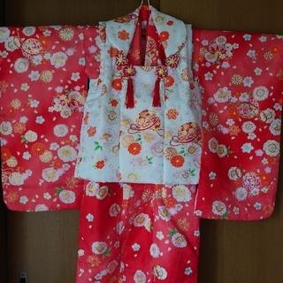 ごま様☆3歳 着物セット 七五三+絵本(和服/着物)