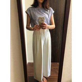 クチュールブローチ(Couture Brooch)のcouturebrooch  綿100%  ボーダートップス♪(シャツ/ブラウス(半袖/袖なし))