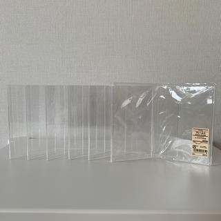 ムジルシリョウヒン(MUJI (無印良品))の無印良品 6個セット アクリルフレーム ツインタイプ サービスサイズ L版 2枚(フォトフレーム)