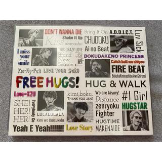 キスマイフットツー(Kis-My-Ft2)のFREE HUGS Blu-ray(アイドル)