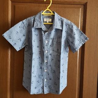 ニシマツヤ(西松屋)の男の子 CHEROKEE 140 半袖シャツ マリン柄(ジャケット/上着)