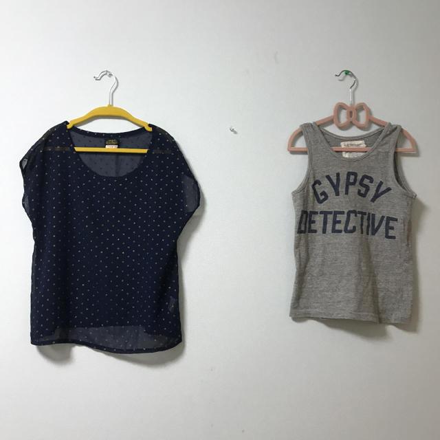 GO TO HOLLYWOOD(ゴートゥーハリウッド)のゴートゥーハリウッド 140  2枚セット キッズ/ベビー/マタニティのキッズ服女の子用(90cm~)(Tシャツ/カットソー)の商品写真