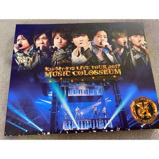 キスマイフットツー(Kis-My-Ft2)のKis-My-Ft2 MUSIC COLOSSEUM Blu-ray(アイドル)