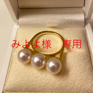 タサキ(TASAKI)のみよよ様 専用 TASAKI タサキ パール バランス リング 指輪 (リング(指輪))