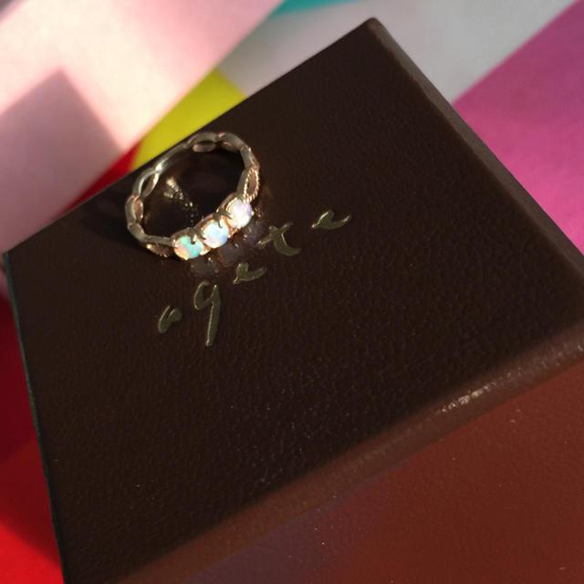 agete(アガット)のageta  4号  k10 レディースのアクセサリー(リング(指輪))の商品写真