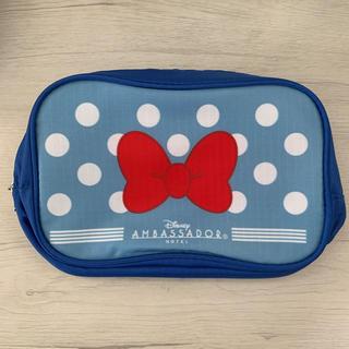 ディズニー(Disney)の【Disney】アンバサダーホテル ミニーマウス アメニティーポーチ①(キャラクターグッズ)