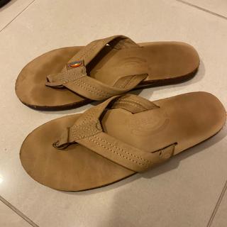 アパルトモンドゥーズィエムクラス(L'Appartement DEUXIEME CLASSE)のrainbow sandals ベージュ M(サンダル)