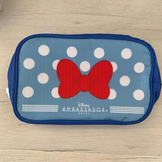 ディズニー(Disney)の【Disney】アンバサダーホテル ミニーマウス アメニティーポーチ②(キャラクターグッズ)