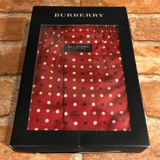 バーバリー(BURBERRY)の【正規品】BURBERRY バーバリー ドット トランクス ホースマーク入り L(トランクス)