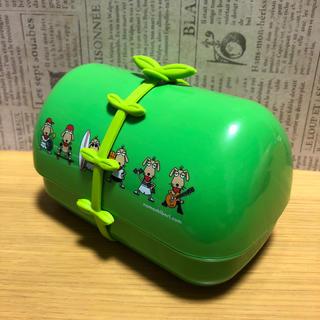 サッポロ(サッポロ)のお弁当箱 グリーン(弁当用品)